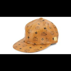 MCM leather baseball cap